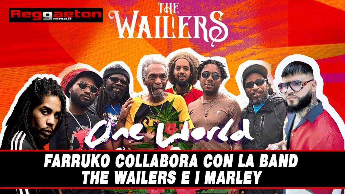Stai attualmente visualizzando Farruko collabora con la band The Wailers e i Marley