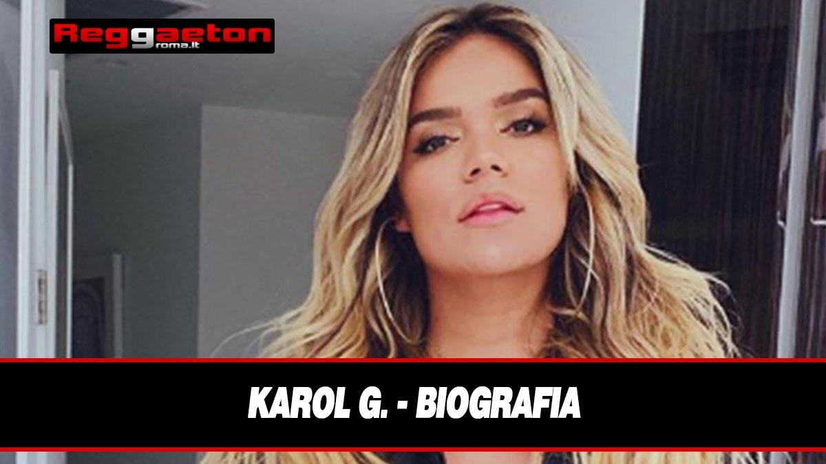 Stai attualmente visualizzando Karol G. – Biografia
