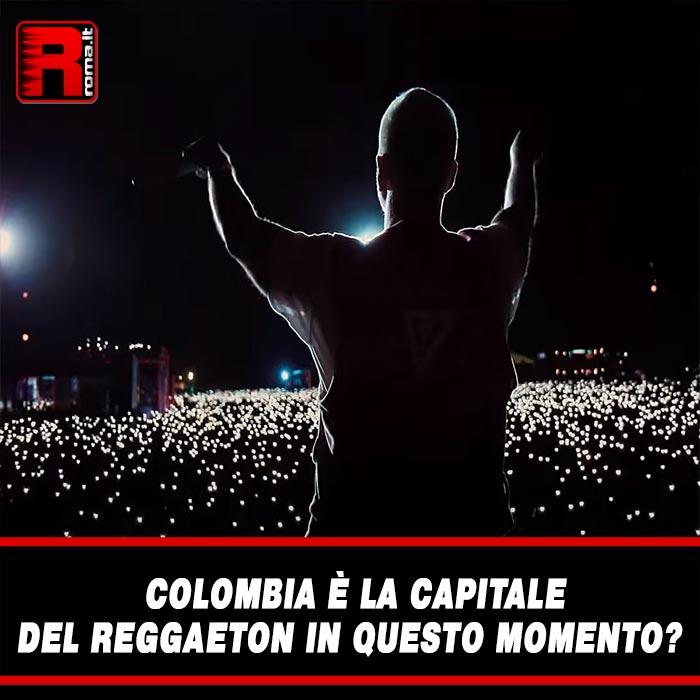Colombia È La Capitale del reggaeton