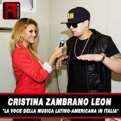 """Cristina Zambrano Leon """"La voce della musica Latino-Americana in Italia"""""""