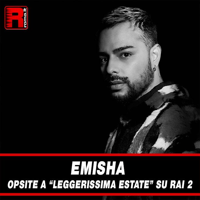 """Stai attualmente visualizzando Emisha ospite a """"Leggerissima estate 2021"""" su Rai 2"""