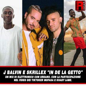 """Leggi di più sull'articolo J Balvin e Skrillex """"In de la Getto"""" un mix di Elettronico con Urbano."""